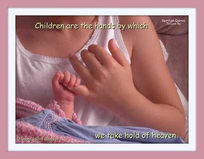 Children are the hands - Blog 