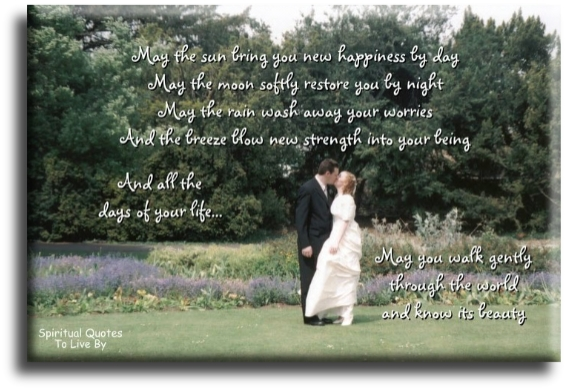 Wedding Day Quotes To Live By