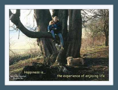 Happiness is - BLOG