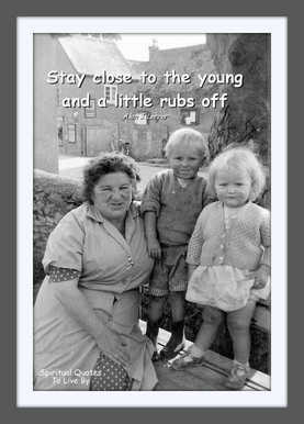 Stay Close To The Young - Blog