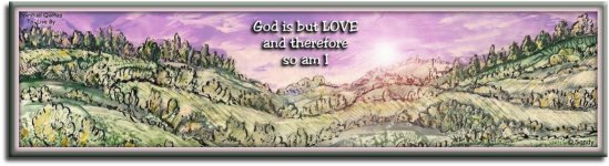 God is but love and therefore so am I - A Course In Miracles - encaustic artwork by Sandra Reeves - Spiritual Quotes To Live By