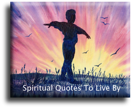 Home - Spiritual Quotes To Live By - image artwork Sandra Reeves