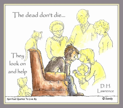 The dead don't die - by Sandra Reeves