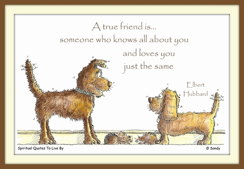 A true friend by Sandra Reeves