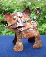 copper kitten by Sandra Reeves