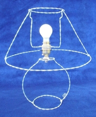 No-energy lamp by Sandra Reeves