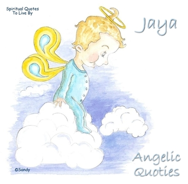 Angelic Quotie Jaya by Sandra Reeves